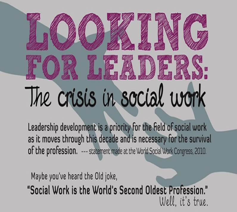 Looking for Leaders: The Crisis in Social Work (INFOGRAPHIC)