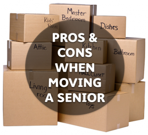 Moving into Senior Living Retirement Community